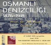 Tarih Bölümü Konferansları - 52 [Prof. Dr. Ali Fuat Örenç]