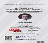 Tarih Bölümü Konferansları - 59 [Doç. Dr. Fatih Bozkurt]