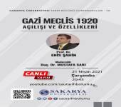 Tarih Bölümü Konferansları - 58 [Prof. Dr. Enis Şahin]